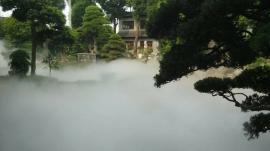 人工造雾园林景观设计米孚喷雾造景设备应用