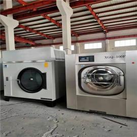 开宾馆酒店布草水洗厂需要的设备 洗涤设备投入咨询
