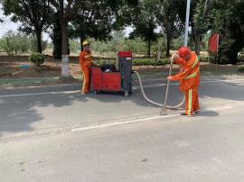 MLFES迈菲斯 汽油驱动吸尘机 公路养护 室外吸石子 灌缝吸尘机