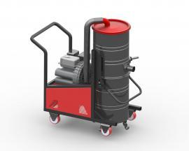 迈菲斯 户外施工用汽油机工业吸尘器移动式汽油驱动吸尘设备