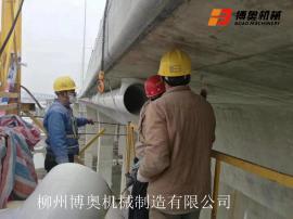 桥梁防撞护栏外侧施工用移动装配式吊篮