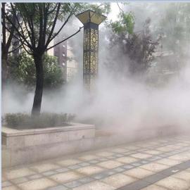 尚格喷塑雾森人造雾喷雾园林景观造雾造景系统设备产地供货