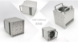 UVLED面光源100*100mm 上光油固化UV油墨UV胶水固化粘接烘干硬化