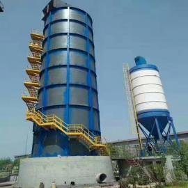 六吨焦炭锅炉脱硫除尘设备高温烟气系统设计方案