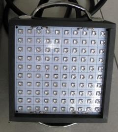 100*100mm水冷面光源,UVLED�L冷面光源固化UV油墨�z水涂料