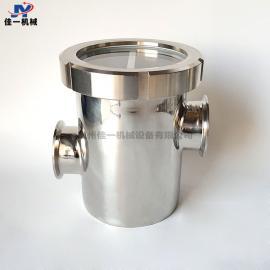 洁净室专用不锈钢空气隔断器装置 卫生级空气阻断器 防倒灌地漏