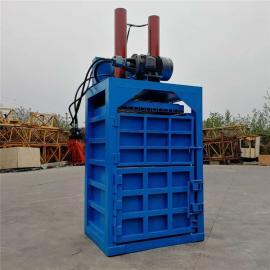 小型立式废纸塑料瓶压块机 30吨双杠立式液压打包机