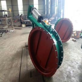 手动蜗轮碳钢通风蝶阀工作原理不锈钢通风蝶阀
