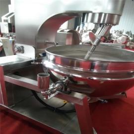 自动控温炒锅 自动搅拌大型食堂熬粥锅