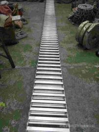 压滤机入料钢制拖链,不锈钢渗碳型拖链