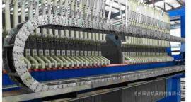 TL350型大型重型钢制拖链,机床渗碳型加固钢制拖链