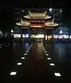 LED发光地砖 广场地砖灯定制