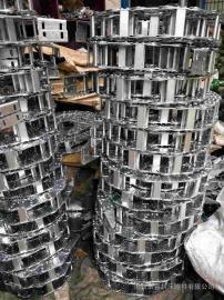 耐磨型钢制拖链 主体是由镀锌链板组成