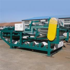 污泥浓缩处理压滤机压泥设备泥水分离设备高效压泥压滤机