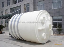 30T加厚立式滚塑水塔耐酸碱PE储罐30m³平底水箱储水罐