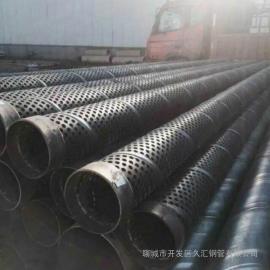 350打井桥式滤水管-地铁降水219mm透水井管首选
