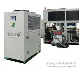 25HP(匹)箱型风冷式冷水机(柜式工业冷水机组)