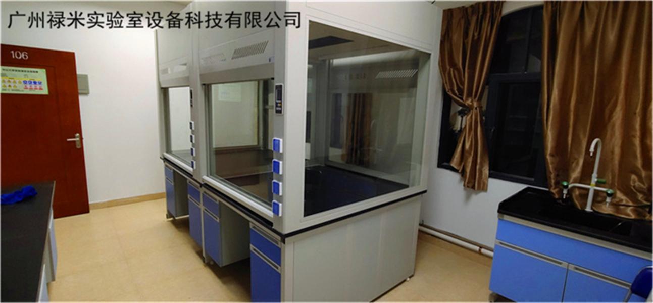 禄米实验室桌上型通风柜 台式通风橱定制