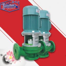 新安江FPL立式管道管道泵 化工排污塑料离心泵