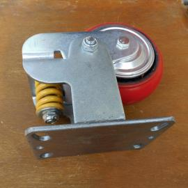 弹簧减震脚轮生产定制@思南弹簧减震脚轮生产定制加工