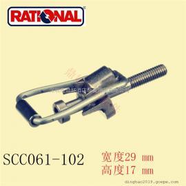 原厂德国RATIONAL 万能蒸烤箱常用配件 SCC061/102烤箱门锁钩