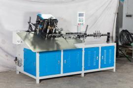 U形方形平面2D弯线机 不锈钢衣架打头焊接一体机 快速异型折弯机