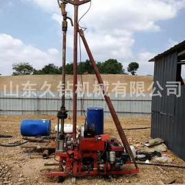 热销久钻机械全液压轻便岩心取样钻机QBY-30地质勘探钻机