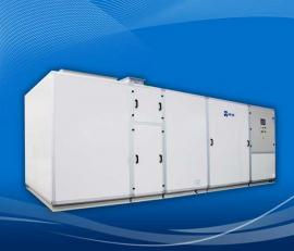 泳池恒温加热设备卧式三集一体除湿热泵 柜式除湿热泵