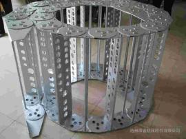嵘实tl250大型钢制拖链 框架式金属拖链