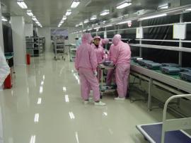 环氧树脂防静电地坪施工电子厂无尘车间环氧地坪