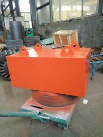 粘土强磁永磁除铁器,砖机皮带式悬挂除铁器,锐特磁电设备厂