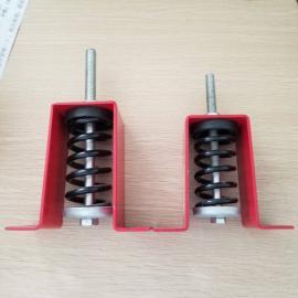 HV型吊装弹簧减震器 风机风柜吊式减震器 空调吊架弹簧减震吊钩
