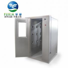 彩钢板/不锈钢双人双吹风淋室FLB-1200