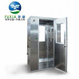 单人双侧风淋室FLB-1A 不锈钢风淋室 技术参数