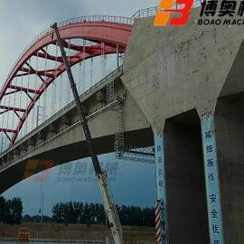 桥梁检查小车 桥梁底部裂痕损伤检测修补