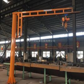 润德 1吨KBK悬臂吊 3吨旋臂式起重机 可移动单臂吊 bzd