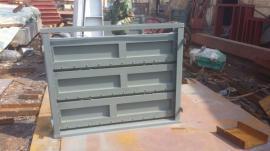 不锈钢叠梁闸门 渠道闸门尺寸大小