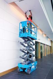 美国吉尼自行式剪型高空作业平台