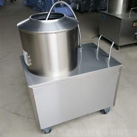 土豆清洗机脱皮机 不锈钢自动薯类去皮机