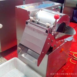 不锈钢竹笋切片机土豆专用切丝机 生姜切片机视频