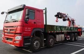 随车起重运输车 25吨大型随车吊