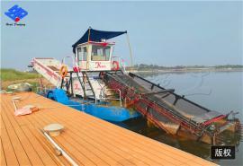 水库垃圾太多怎么办 河道清漂船 水域保洁船