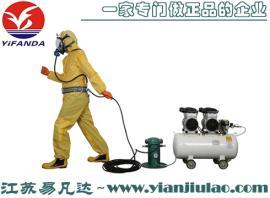 无油型空气压缩机、高精密空气过滤装置、0.7MPa泵式长管呼吸器