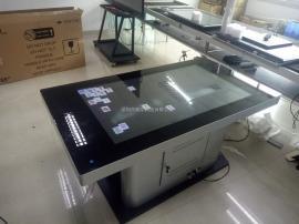 多媒�w展�d展�^互�佑|摸屏投影桌面