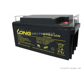 LONG广隆蓄电池WP65-12铅酸免维护12V65AH风力发电