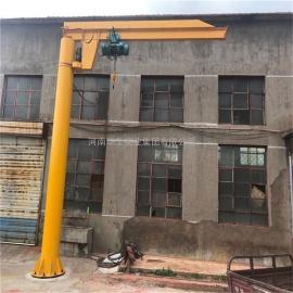 250公斤车间码头物料吊卸悬臂吊 电动旋臂式起重机 单臂吊可定做