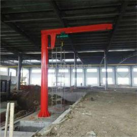 1吨BZD1定柱式悬臂吊 360度电动旋转悬臂吊 非标臂长高度可定做