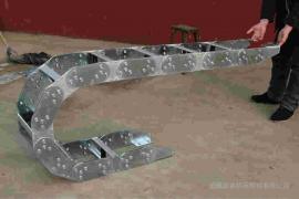 嵘实阻力小钢制拖链 工业渗碳金属机床拖链