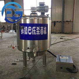 150L单罐杀菌机 酸奶巴氏杀菌机设备 纯牛奶加工设备