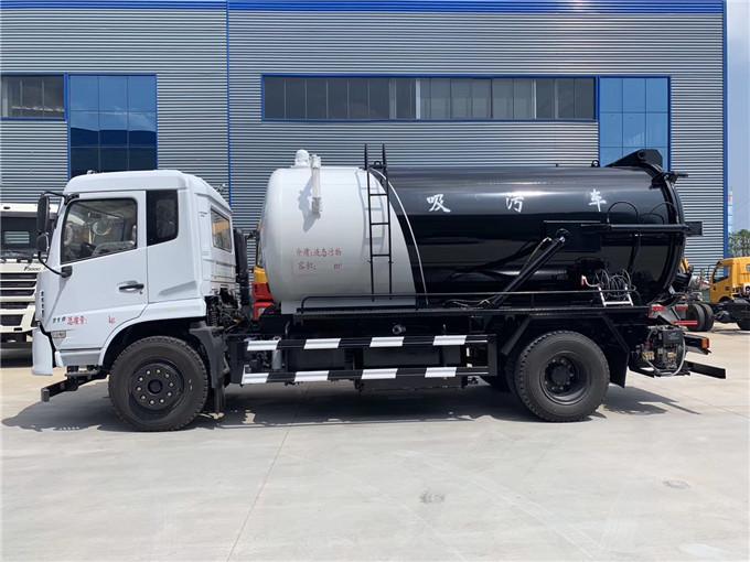 饲料禽畜养殖场拉5吨10吨15吨20吨粪污运输车(绿色环保运输)